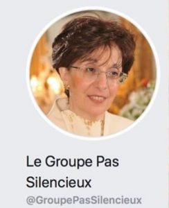 "Facebook ""Le Groupe Pas Silencieux_Sarah Halimi"" screenshot"